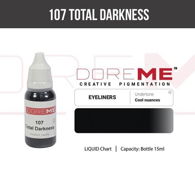 Doreme pigment liquid 107 Total Darkness