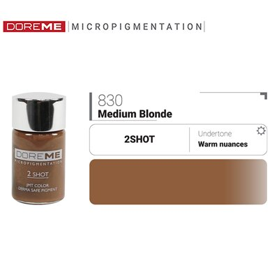 Doreme pigment Shot 830 Medium Blonde 15 ml