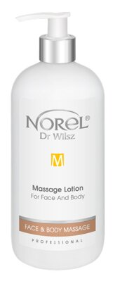 PB 332 Dr. Wilsz Face & Body Massage - Massage Lotion for face and body 500ml