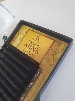 Premium MINK Lashes  0,05 D - 14 mm