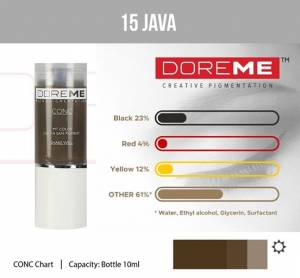 Pigment Doreme 15 Java 15ml